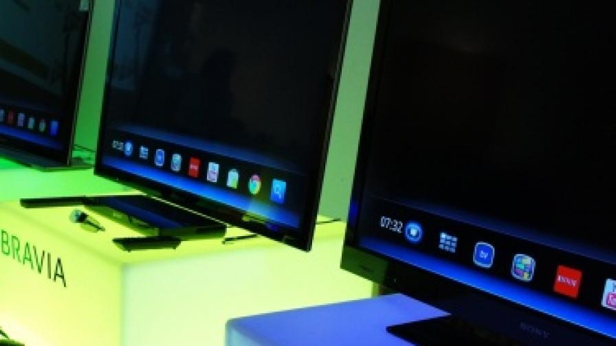 """Новите телевизори на """"Сони"""""""