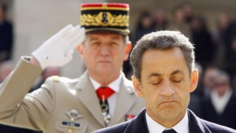 Френският държавен глава Никола Саркози се бори за втори мандат