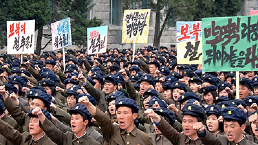 Северна към Южна Корея: Ще ви изпепелим за 3 минути!