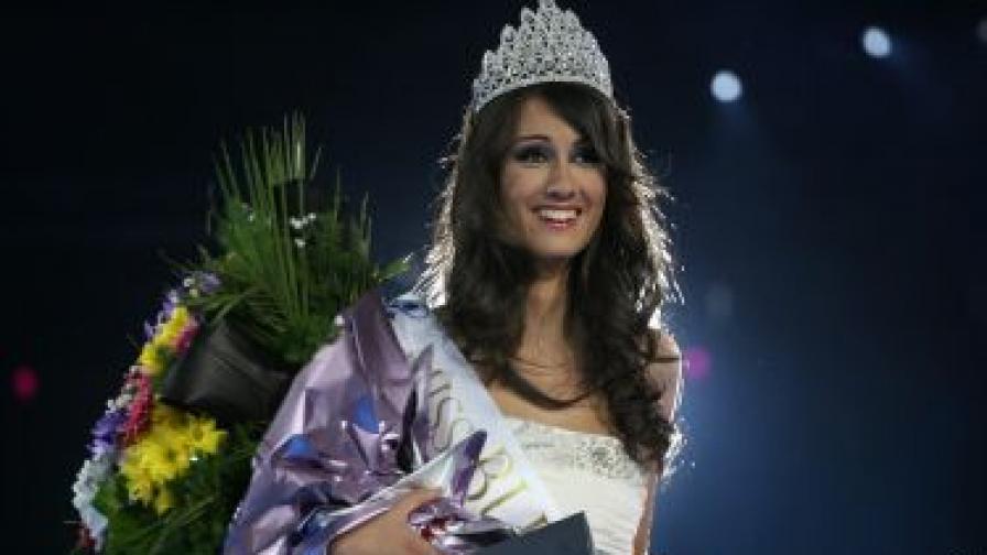 """Ина Манчева е """"Мис България 2012"""""""