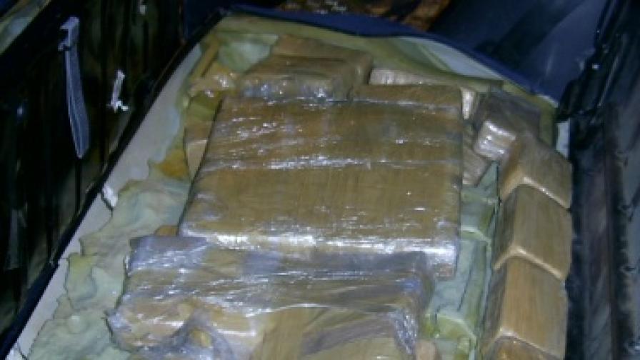 Хванаха българин с 30 кг хероин на Капъкуле