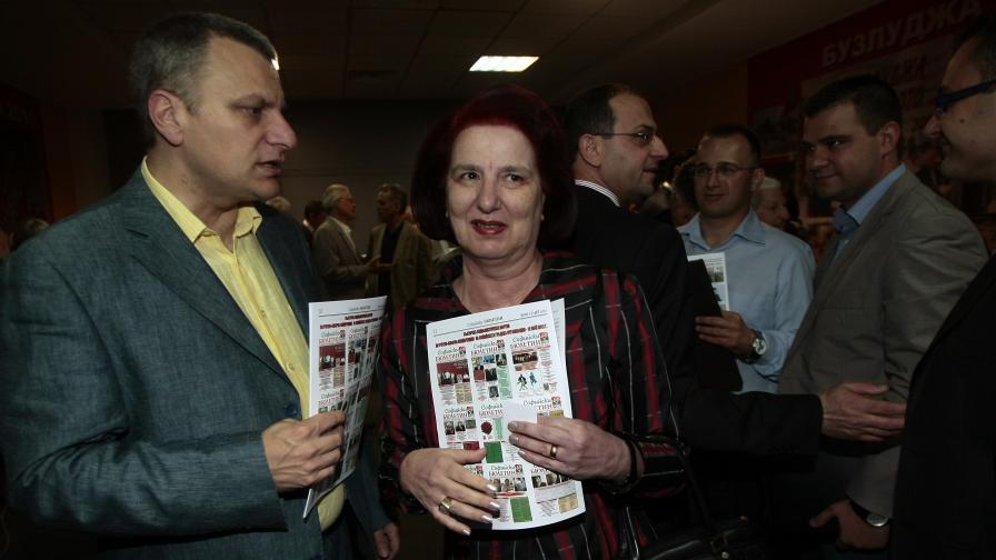Анна Янева е новият председател на БСП-София