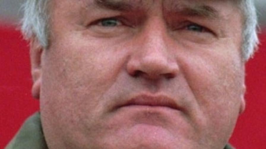 Ратко Младич на върха на славата си - през 1995 г.