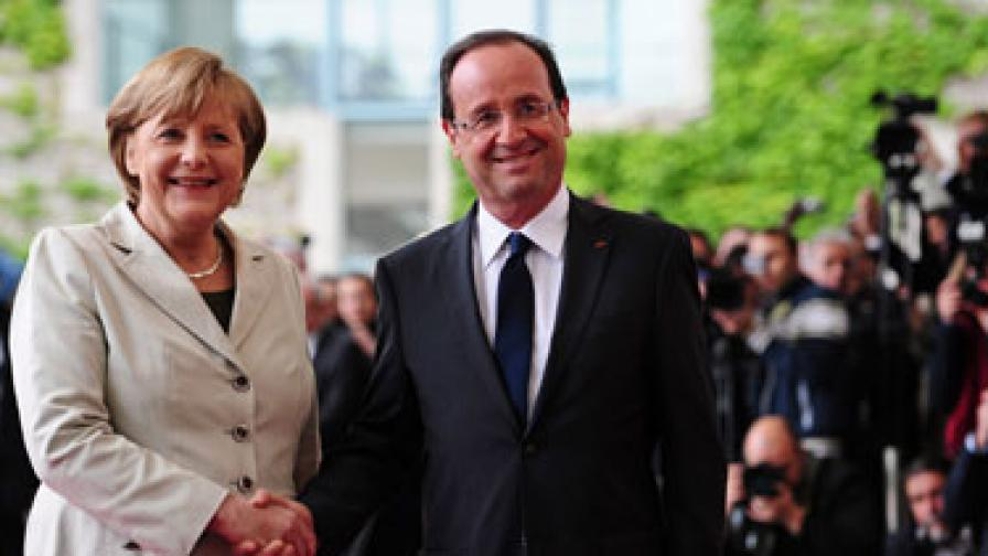 Оланд закъсня за първа среща като президент заради мълния