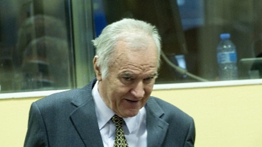 Ратко Младич в съда на 16 май