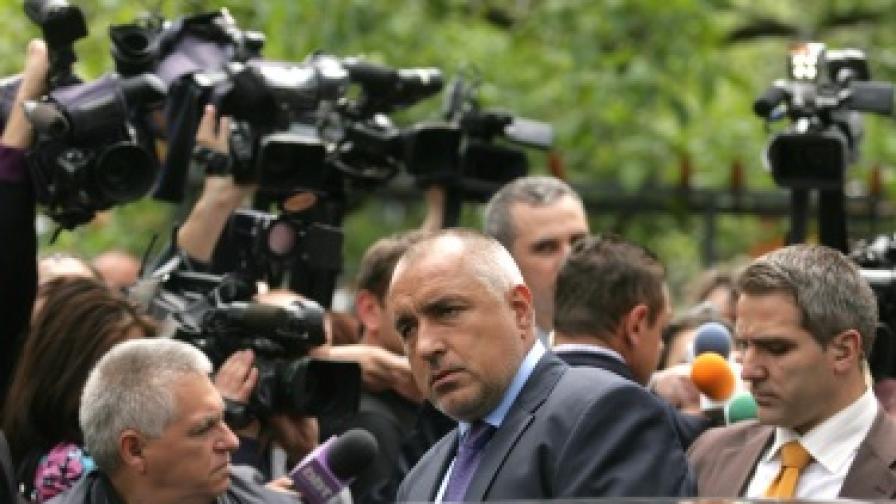 Борисов: Как може човек, който мирише на джибри, да му мирише на избори