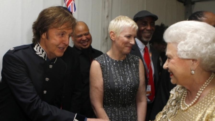 18 хиляди на концерта в чест на кралицата