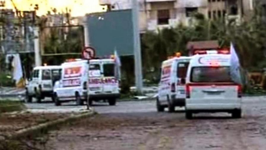 Екипите на ООН ще работят в тясно сътрудничество със Сирийския червен полумесец