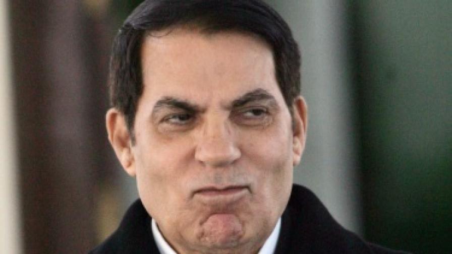 Осъдиха задочно Бен Али на 20 г. затвор