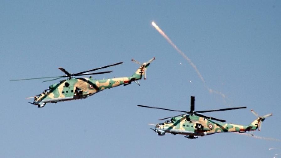 Лондон спря руски кораб с щурмови хеликоптери за Сирия
