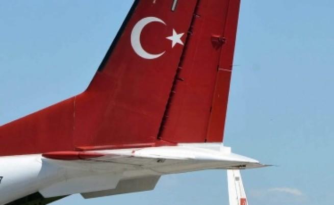 Сирия е свалила турския изтребител