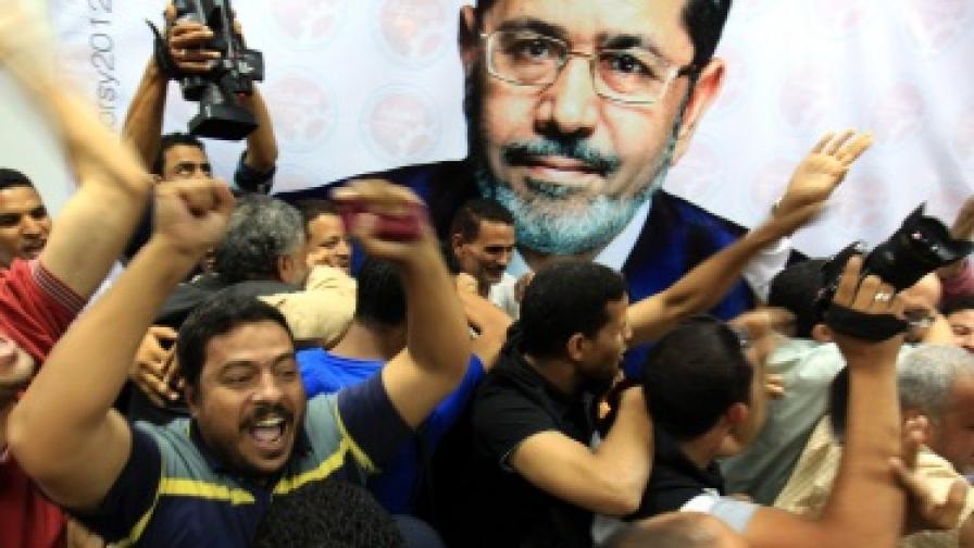 Мюсюлманският брат Мохамед Морси – президент на Египет