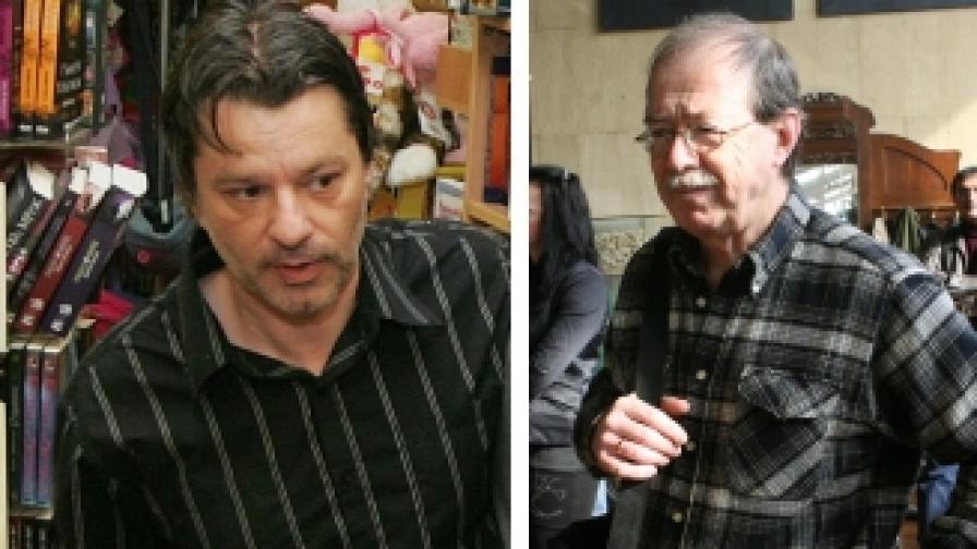 Маран Вълев (л), Георги Дюлгеров