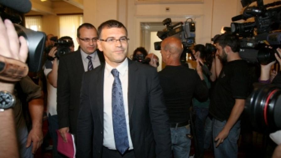 Вицепремиерът и финансов министър Симеон Дянков