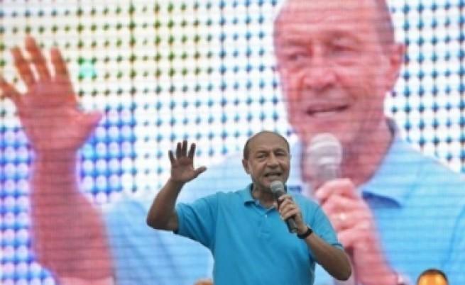Референдумът за сваляне на Бъсеску се провали