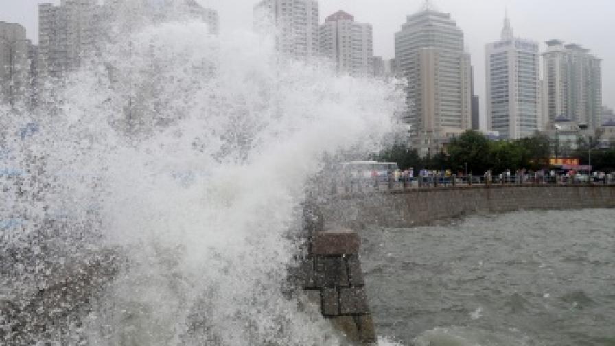 1,5 млн. китайци евакуирани заради тайфун