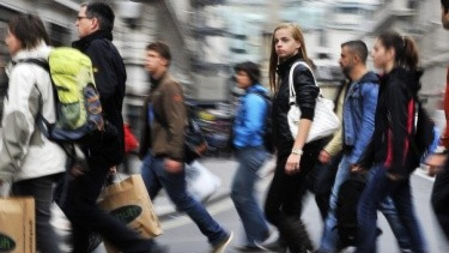 НСИ: Работещите са 2,15 млн. души
