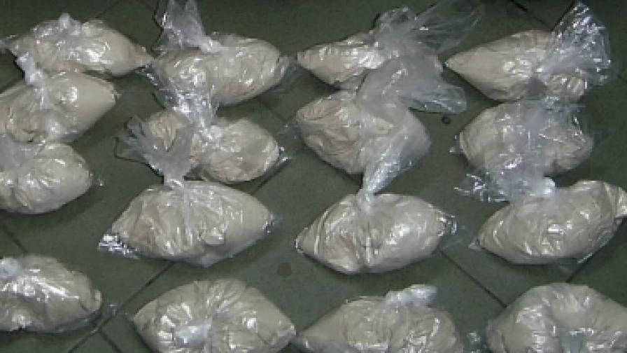 Хванаха хероин за над 2,5 млн. лв. на Капитан Андреево