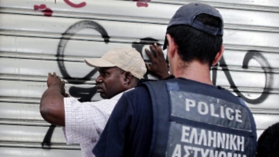Ловят нелегални имигранти из цяла Гърция