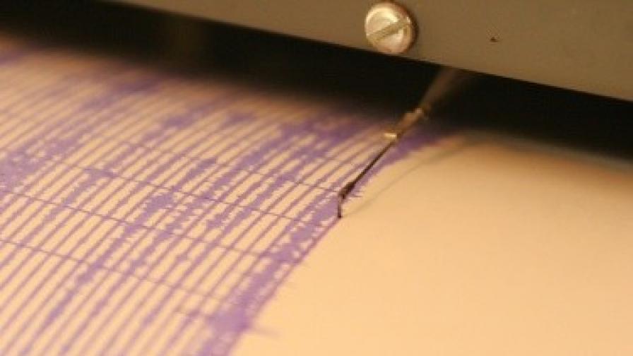 Земетресение с магнитуд 6,3 разтърси Китай