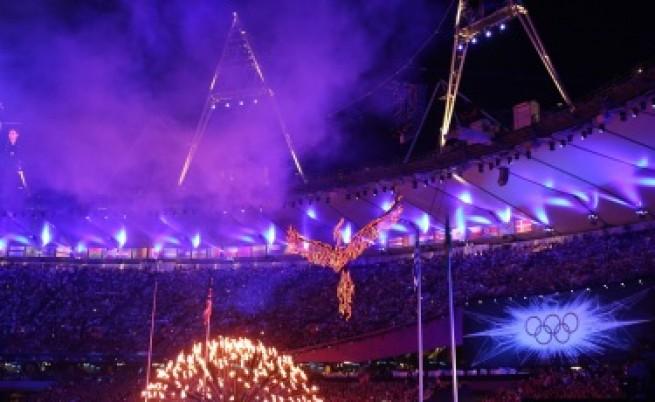 Британска музика и зрелища в края на олимпиадата