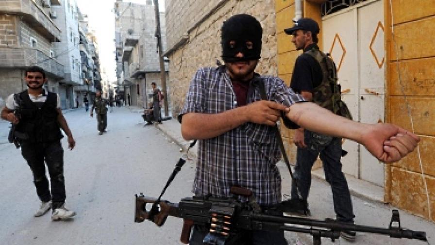 Според либийските ветерани сирийската опозиция е много неорганизирана