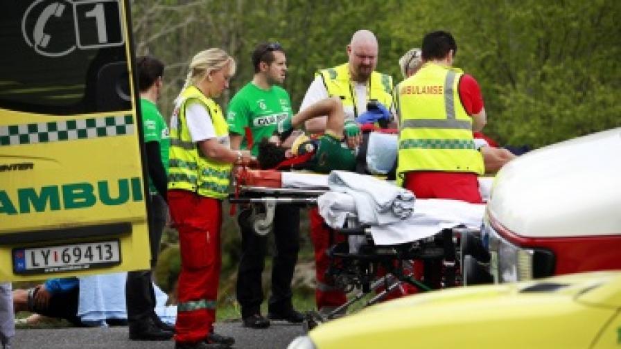 Български бус катастрофира тежко в Норвегия