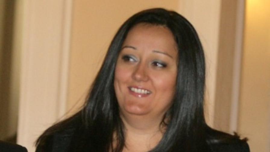 Министърът на регионалното развитие и благоустройството Лиляна Павлова