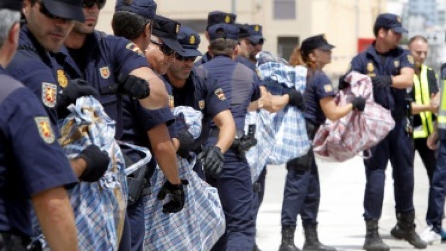 Безимотни роми са собственици на задържаните в Испания яхти