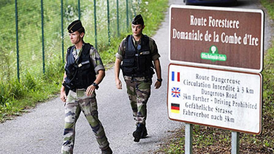 Службите следели убития във Франция британец