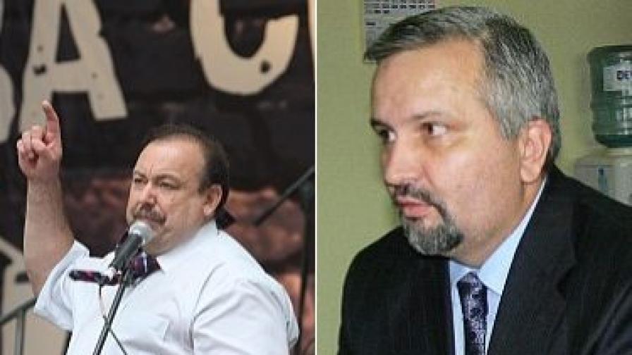 Генадий Гудков (л), Ивайло Зартов (д)