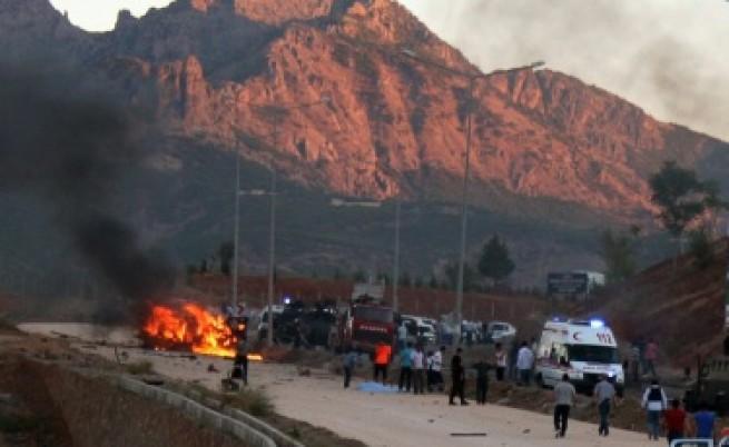 Седем души загинаха при взрив в Турция