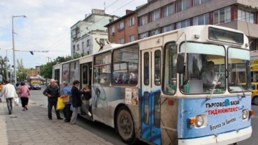 Пловдив остана без тролеи