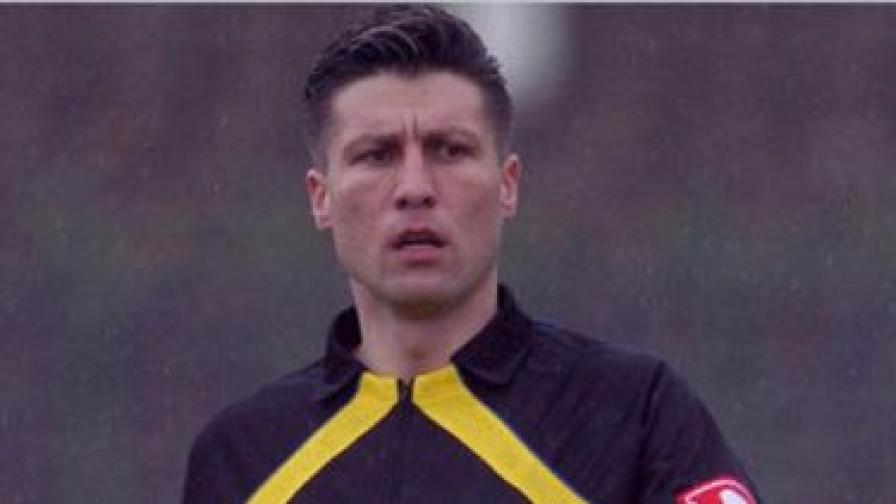 39-годишният Момчил Врайков е бивш международен футболен съдия
