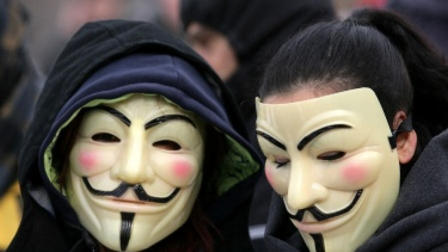 """Хакнаха няколко шведски сайта. Твърдят, че са """"Анонимните"""""""