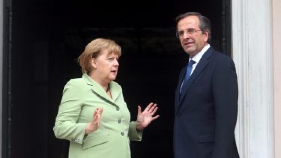 Меркел: Искам Гърция в еврозоната