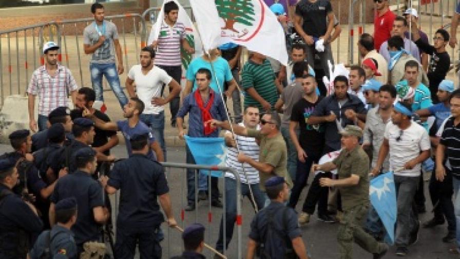 Сблъсъци в Ливан