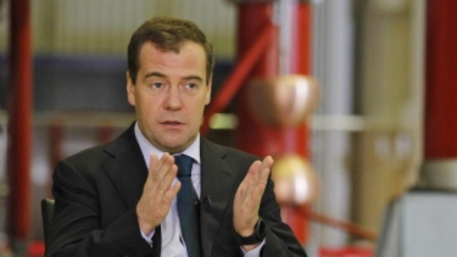 """Медведев: Нямаше да пратя """"Пуси райът"""" в затвора"""