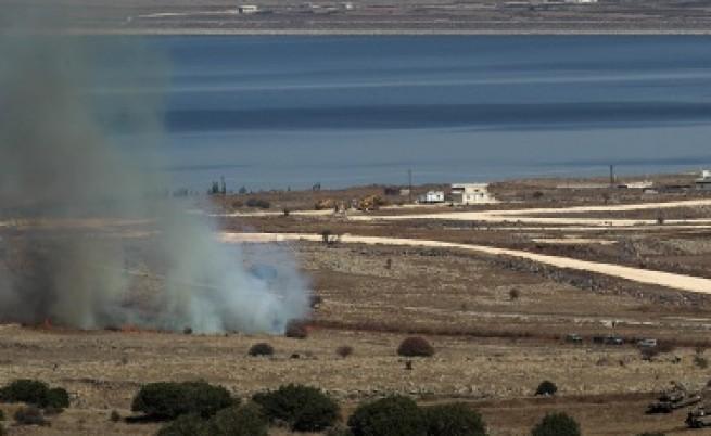 Израел стреля предупредително срещу Сирия
