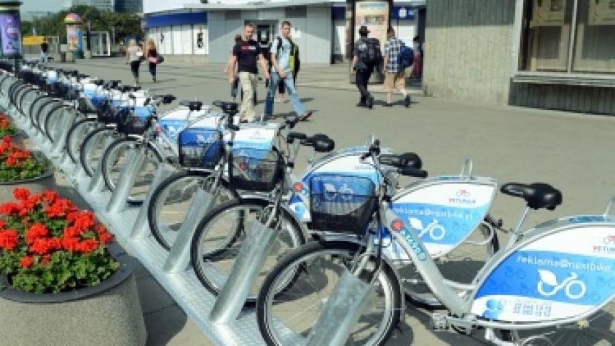 В Бургас ще има стоянки с велосипеди под наем