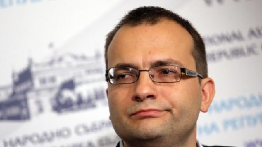 Мартин Димитров: На мястото на Стоянов не бих приел