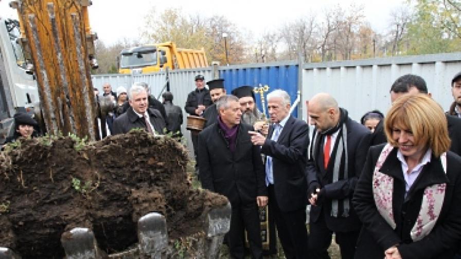 Започна строежът на метрото до летището