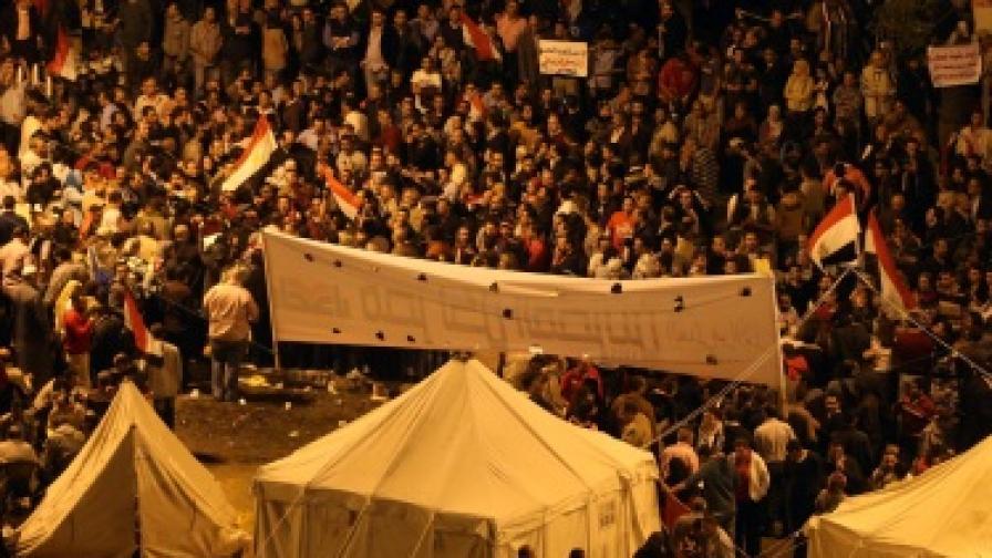 Над 100 ранени при последните протести в Египет