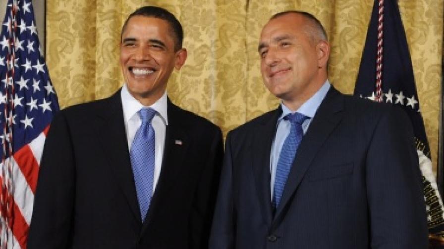 Борисов за Обама: Не очаквах да чуя толкова добри неща
