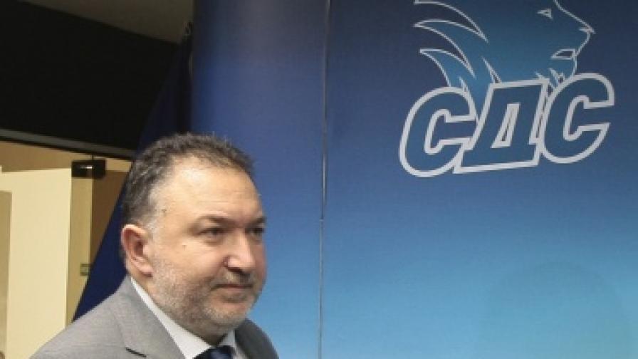 Емил Кабаинванов, председател на СДС