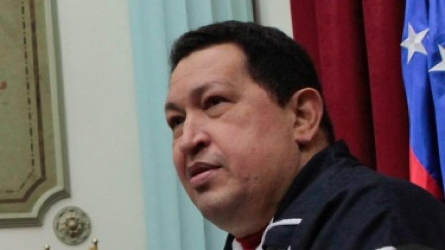 Уго Чавес се готви за операция в Куба