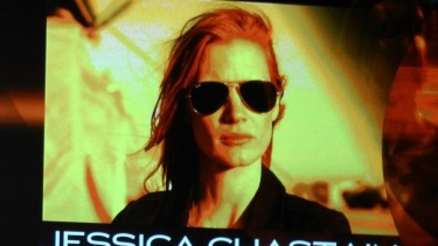 Актрисата в главната роля във филма Джесика Частейн вече печели награди за превъплъщението си