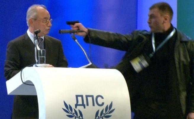 Цветанов: Малко вероятно е било Доган да бъде убит с това газово оръжие