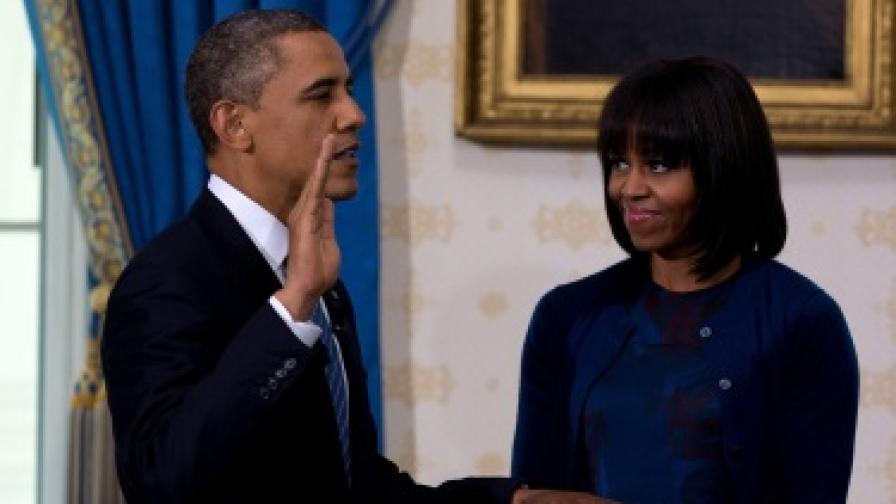 Обама положи клетва и започна втория си мандат