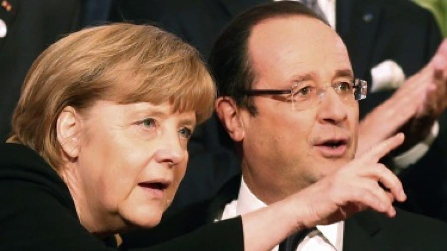 Оланд: Между нас с Меркел тече ток